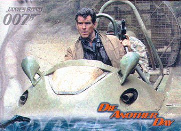 Bond Die Another Day Base Card Set (90) + P1