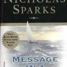 Message In A Bottle novel - Nicholas Sparks
