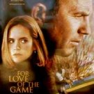 For Love Of The Game poster - Kevin Costner, Kelly Preston