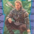 Robin Hood: Prince Of Thieves trading sticker #9 from the 55-card, 9-sticker set - Kevin Costner