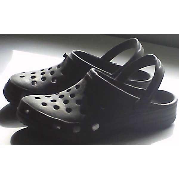 Shoes - crocs type - black - size women's 8/9 - new
