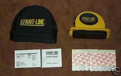 strait line laser level instructions