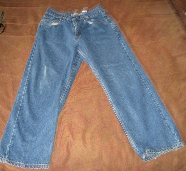 Mens Levi Strauss 569 Loose Straight Student Size 16 Regular  28W X 28L