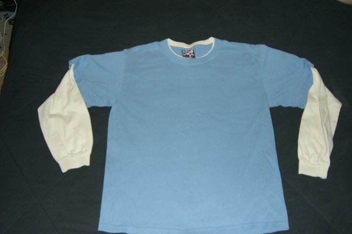 Boys Top Heavy Two Tone COLORED LONG SLEEVE JERSEY