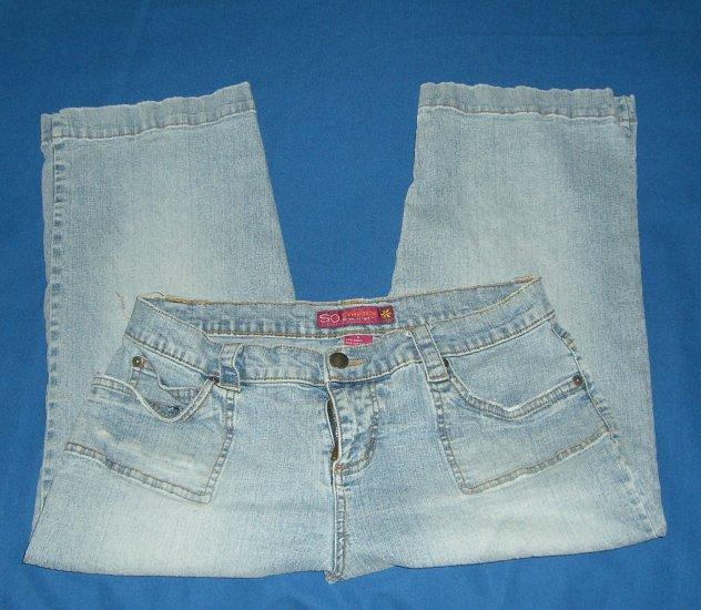 Womans So Stretch Capri Jeans