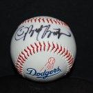 L.A. Dodger Baseball Autographed By Brett Butler
