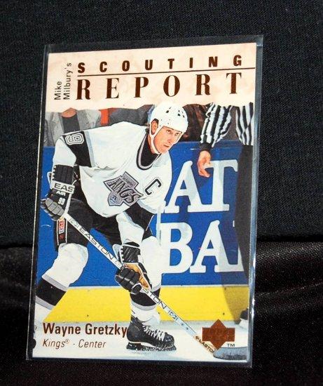 Upper Deck Scouting Report Wayne Gretzky #252
