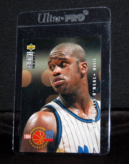 1994 Upper Deck Pro Files Shaquille O'Neal Magic #205