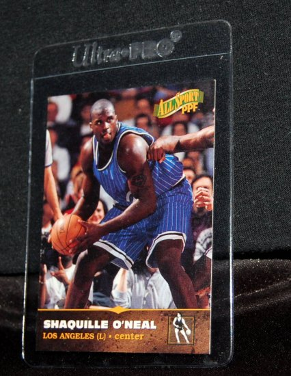 1996-97 SB All Sport PPF  #1 Shaquille O'Neal