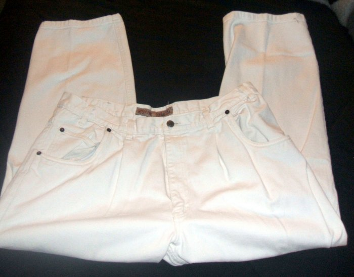 ROGLINS REAL JEANS White MENS PRE-OWNED
