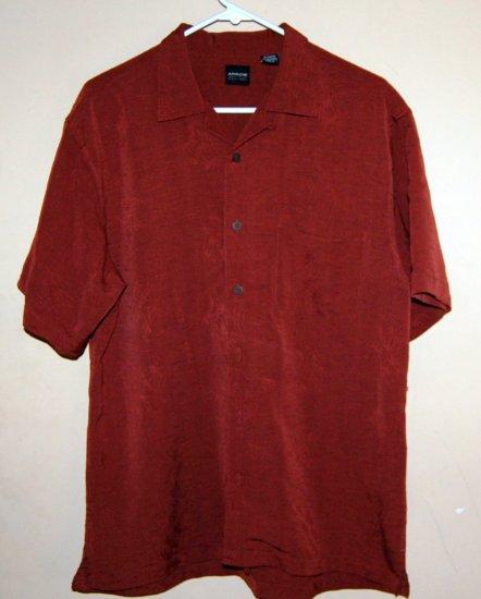 Mens Arrow Hawaiian Button up Shirt NWOT