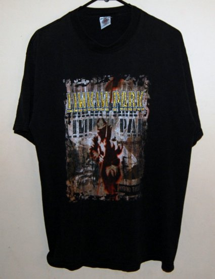 linkin Park Embroidered Band T-shirt Pre-Washed