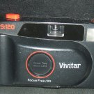 Vivitar PS:120 Focus Free / DX Motorized 35 mm Camera Pre-Owned