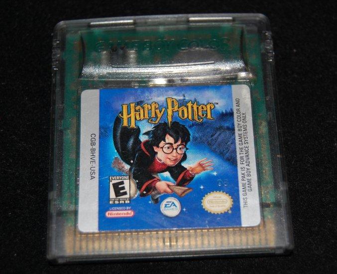 Harry Potter & the Sorcerer's Stone Nintendo Game Boy Color 2008 Pre-