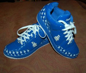 Reebok Authentic Collection Los Angeles Dodgers Shoes  Worn Once