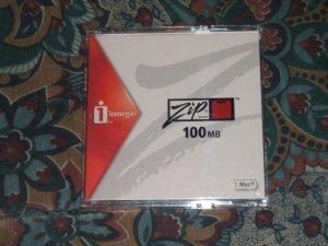 3 Iomega 100 MB Zip Disk for MAC