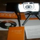 EarthLink E-snap Digital Still & Video Camera Tripod Bundle Pre-owned