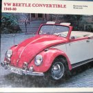 Volkswagen Beetle and Karmann Ghia Convertibles, 1949-80 (Schiffer Automotive)