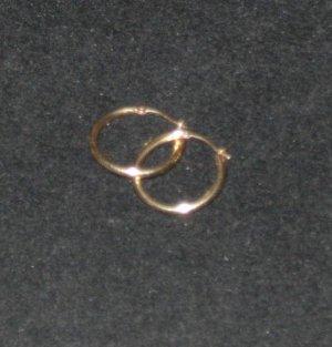 14kt Gold Hoop Earrings Scrap or Wear