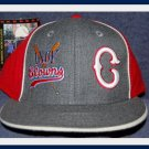 INDIANAPOLIS CLOWNS fitted wool Baseball cap NEGRO LEAGUE