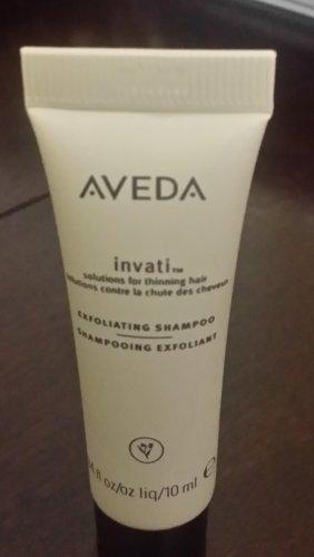 Aveda invati Exfoliating Shampoo- Deluxe size - 10 ml- BNNB