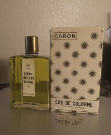 VINTAGE Caron Eau De Cologne - Fleurs de Rocaille - BNIB - 6 OZ - BNIB