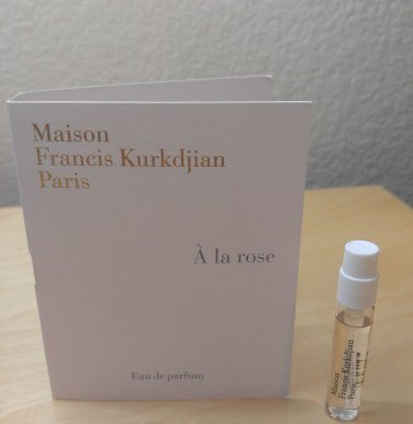 Maison Francis Kurkdjian A la Rose edp - 2 ml SAMPLE - BN