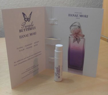 Hanae Mori Purple Butterfly edp 1.2 ml SAMPLE - BN
