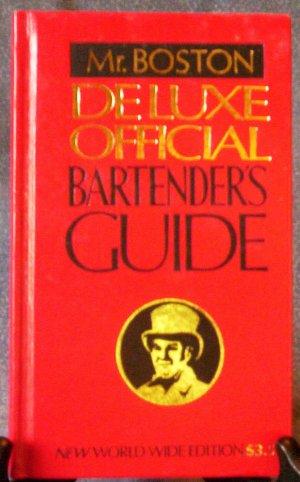 Mr. Boston Deluxe Official Bartender's Guide,  NN, FREE SHIPPING