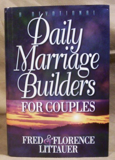Daily Marriage Builders For Couples, Fred & Florence Littauer, VG