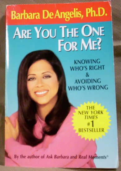 Are You the One for Me, Barbara DeAngelis, Ph.D.