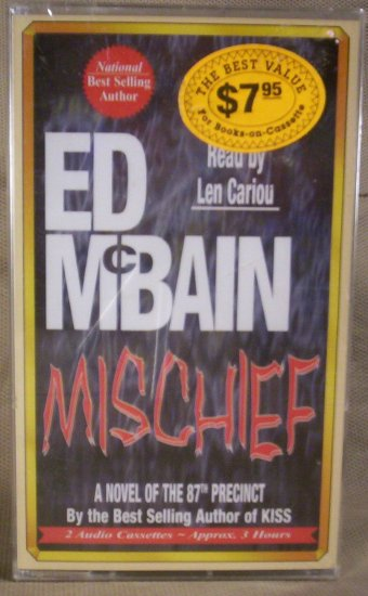 Mischief, 87th Precinct, Ed McBain, Read by Len Cariou