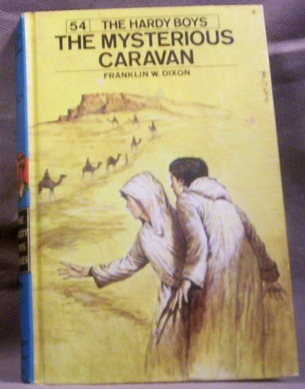 #54 The Hardy Boys, The Mysterious Caravan by Franklin W. Dixon, 1975