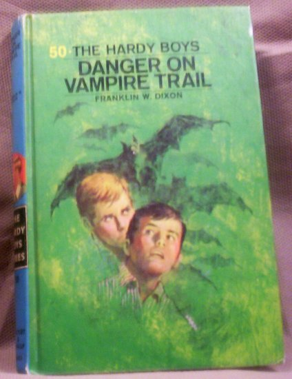 #50 The Hardy Boys, Danger on Vampire Trail by Franklin W. Dixon, 1971