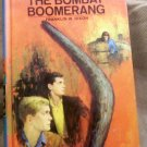 #49, The Hardy Boys, The Bombay Boomerang by Franklin W. Dixon, 1970