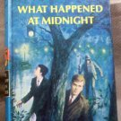 #10, The Hardy Boys, What Happened at Midnight by Franklin W. Dixon, 1967