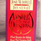 Answers to Tough Questions, Josh McDowell, FREE SHIPPING
