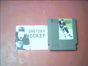 WAYNE GRETZCKY HOCKEY WITH BOOKLET for Nintendo 8bit NES