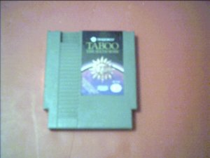 TABOO THE SIXITH SENSE *TESTED* 8 BIT NES