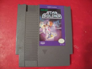 STAR SOLIDER (Nintendo) *TESTED* 8 BIT NES