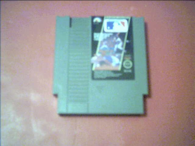 MAJOR LEAGUE BASEBALL (Nintendo) *TESTED* 8 bit nes