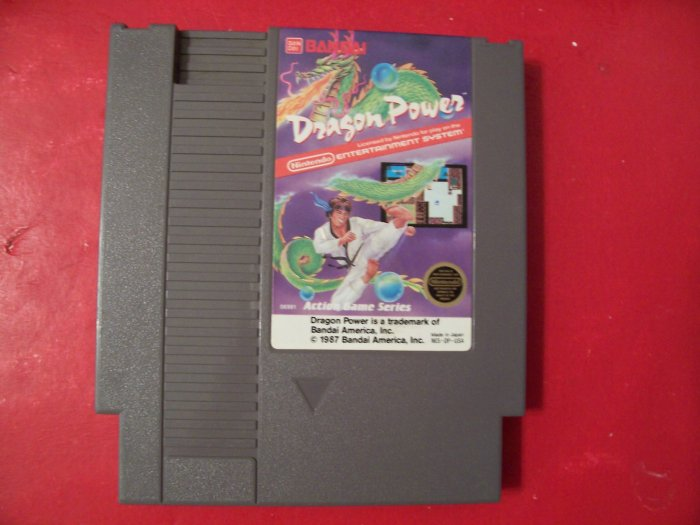 DRAGON POWER (Nintendo) *TESTED*
