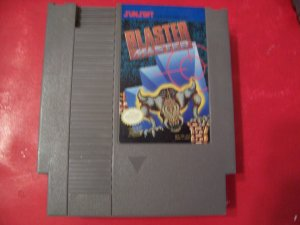 BLASTER MASTER FOR NINTENDO *TESTED* 8 BIT NES