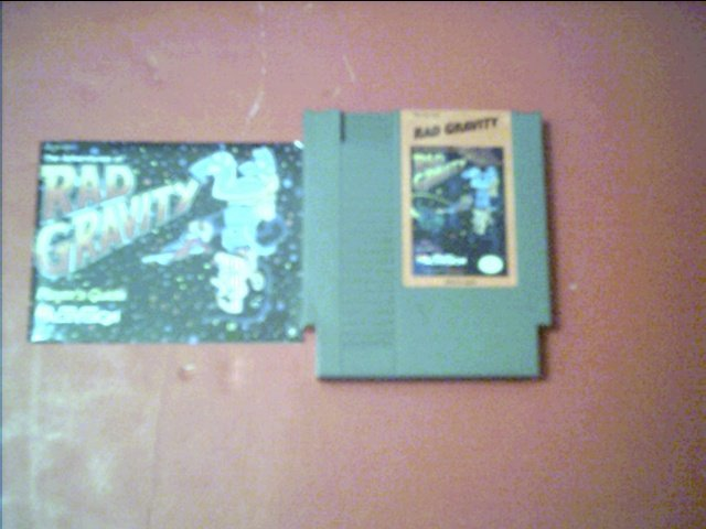 RAD GRAVITY WITH BOOKLET *TESTED* NINTENDO 8 BIT NES