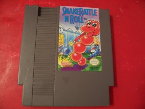 SNAKE RATTLE N ROLL *TESTED* NINTENDO 8 BIT NES