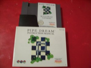 PIPE DREAM WITH BOOKLET FOR NINTENDO *TESTED*