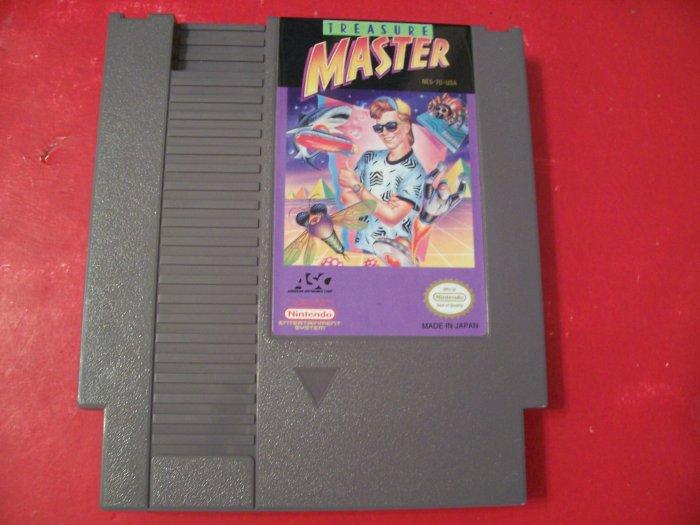 TREASURE MASTER FOR NINTENDO *TESTED* 8 BIT NES