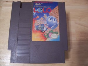 THE ADVENTURES OF LOLO ( NINTENDO ) *TESTED*