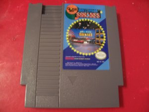 Hollywood Squares (Nintendo) TESTED 8 BIT NES