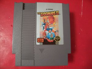 GOONIES II BY KONAMI (NES) TESTED